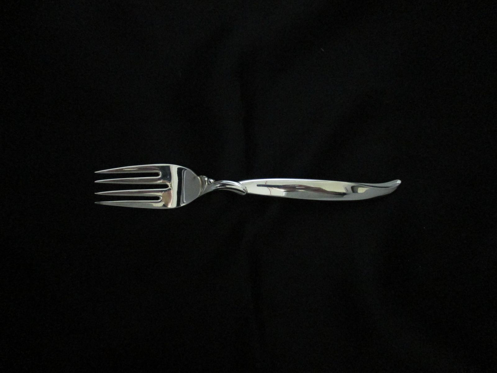 Flair silverplate  rogers salad dessert fork S